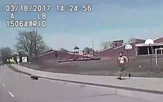 Police run over and kill fleeing gunwoman in shocking video