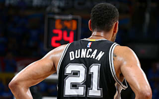 Spurs to retire Duncan's number 21 jersey