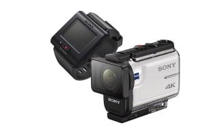 Sony tiene nuevas cámaras de acción con estabilizador de imagen 4K y visor remoto