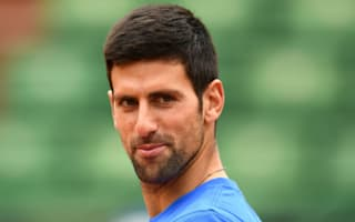 Djokovic enjoys first session with Agassi at Roland Garros