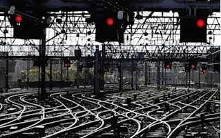 Most  of the UK's rail network is owned by foreign companies