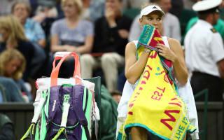 Serena sails through at Wimbledon, Wozniacki bows out