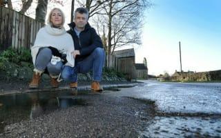Couple wins landmark victory against council over pothole damage