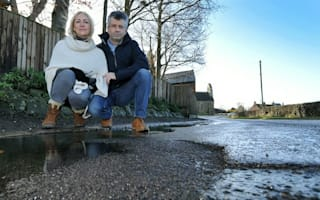 Couple wins landmark victory against council over pothole damage