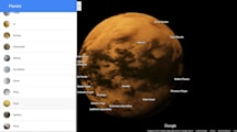 Date una vuelta por gran parte del sistema solar gracias a Google Maps