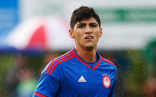 Olympiacos striker Pulido kidnapped in Mexico - reports
