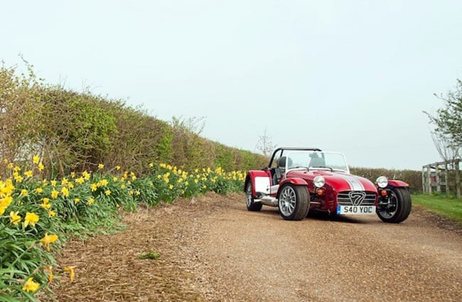 Caterham 40th Anniversary