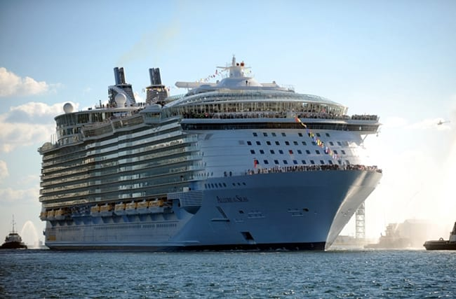World's largest cruise ship heading to Europe for first time