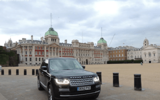 Range Rover driven by Prince William for sale on AutoTrader
