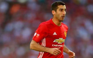 Mkhitaryan not injured but still needs time, says Mourinho
