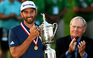 'Best Father's Day ever' - Johnson revels in maiden major at U.S. Open
