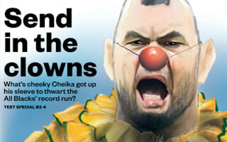 Wallabies hit out at 'clowns' jibe after All Blacks defeat