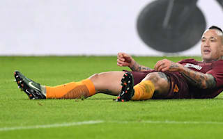 Serie A race becoming difficult for Roma, concedes Nainggolan