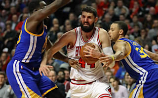 Bulls upset Warriors, Thunder beaten