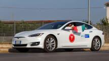 Fans de Tesla consiguen un nuevo récord de distancia con el Model S
