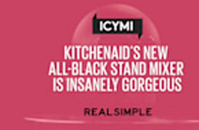 KitchenAid's New All-Black Stand Mixer Is Insanely Gorgeous