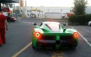 Has Jay Kay ordered a LaFerrari in green?