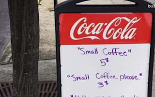 American cafe offers discount in return for good manners