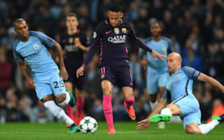 Guardiola marvels at Zabaleta's Neymar heroics
