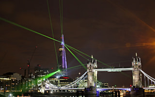 Watch: London lights up as the Shard opens