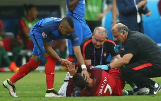 Ronaldo injury helped Portugal to Euro 2016 success, says Abidal