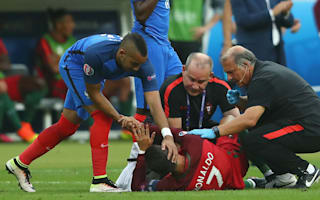 Ronaldo injury helped Portugal to Euro 2016 success, says Abidal