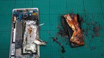 Un repaso visual por algunos gadgets que acabaron ardiendo