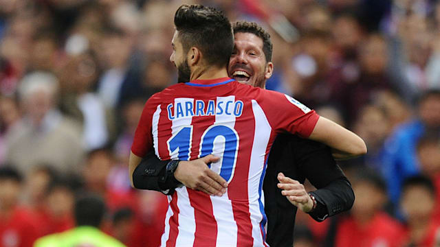 Luis Fires In-Form Atletico Up To Third