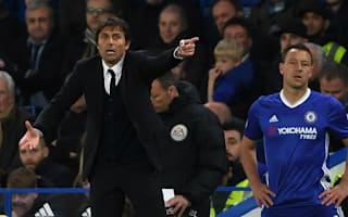 Conte hails 'great man' Terry's positive influence