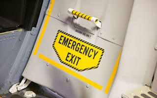 Passenger opened emergency exit 'because of screaming baby'