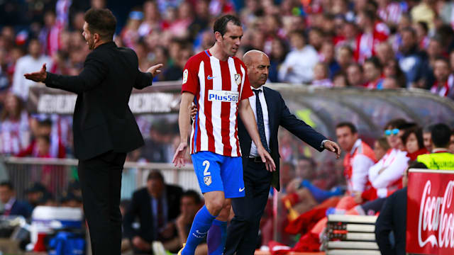 Atletico defender Godin handed three-game ban