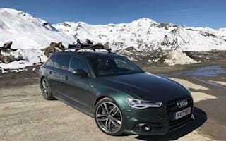 Alpine adventure in an Audi A6