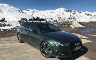 Alpine adventure in an Audi A6