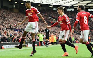Manchester United 3 Arsenal 2: Rashford stars again in hard-fought victory
