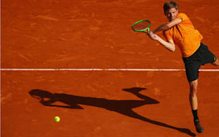 Goffin reaches Madrid second round in straight sets