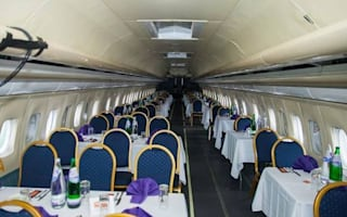Curry house opens in Boeing 737 jetliner