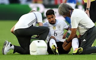 Juventus midfielder Khedira out of Germany v England