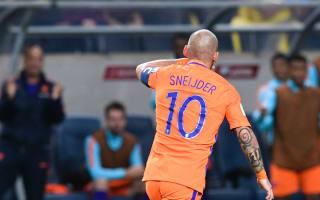 Sweden 1 Netherlands 1: Sneijder equaliser spares Blind's blushes