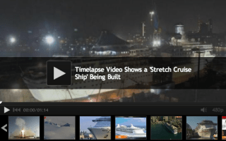 Cruise ship 'stretched' to make more room for passengers: Video