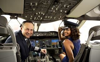Alesha Dixon pilots UK's first long-haul Boeing Dreamliner