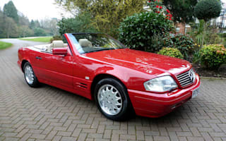 Abandoned delivery-mileage Mercedes could fetch £55k at auction
