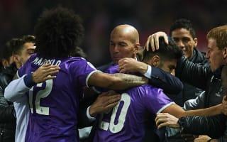 Sevilla 3 Real Madrid 3 (agg 3-6): Benzema strike makes history as Zidane's side progress