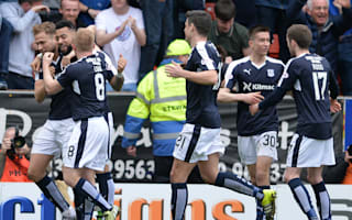 Dundee 2 Dundee United 1: Visitors relegated