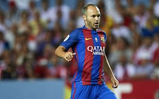 There is nobody like him - Luis Enrique rues Iniesta absence