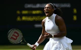 Serena eases into Wimbledon semis