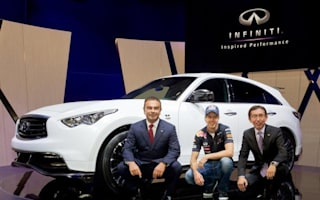 Infiniti launches £100,000 SUV