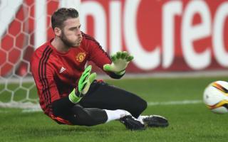 De Gea injured in Manchester United warm-up
