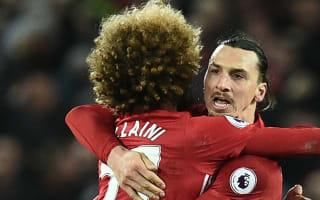 Ibrahimovic always shouting in training, says Fellaini
