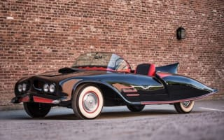 Original Batmobile sells for a mere £90k at auction