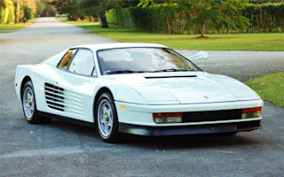 Miami Vice Ferrari Testarossa goes under the hammer